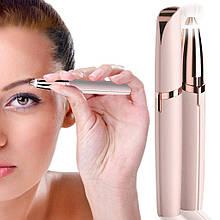 Женский триммер - эпилятор для бровей Flawless Brows с подсветкой / Карманный триммер