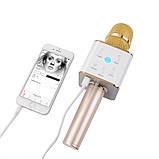 Bluetooth мікрофон для караоке Q7 Блютуз мікро + ЧОХОЛ, фото 9