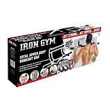 Турнік для будинку Айрон джим бруси Iron Gym тренажер в дверний проріз!, фото 8