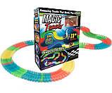 Детский набор - гоночная трасса MAGIC TRACК 220 деталей / Mеджик Трек - Гибкая автотрасса с двумя машинками, фото 10