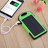 Портативний зарядний пристрій Solar Power Bank 30000 mAh на сонячній батареї | PowerBank LED / Повер Банк, фото 4