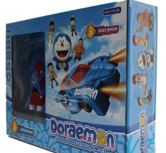 Антигравітаційна супер машинка летаюшая по стінах Doraemon 3499 / Левитирующая машинка