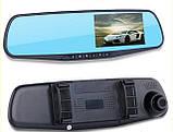 Відеореєстратор-дзеркало DVR L6000 з однією камерою і екраном, фото 3