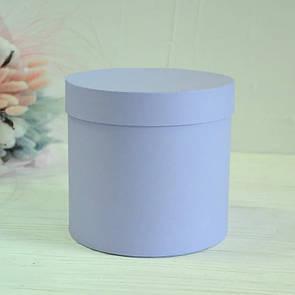 Шляпная круглая коробка d= 16 h=10 см