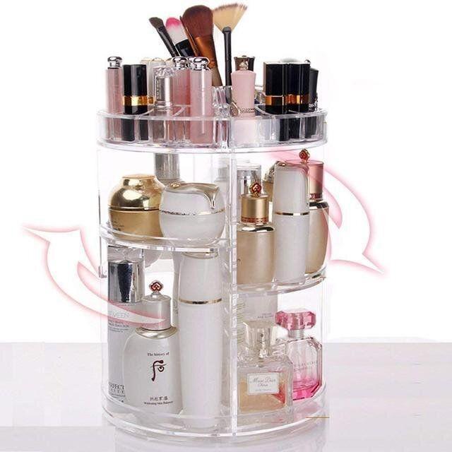 Органайзер для косметики вращающийся Cosmetics Storage Box Rot at Ive Rack JN-820