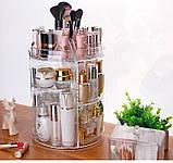 Органайзер для косметики вращающийся Cosmetics Storage Box Rot at Ive Rack JN-820, фото 3