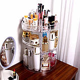 Органайзер для косметики вращающийся Cosmetics Storage Box Rot at Ive Rack JN-820, фото 8