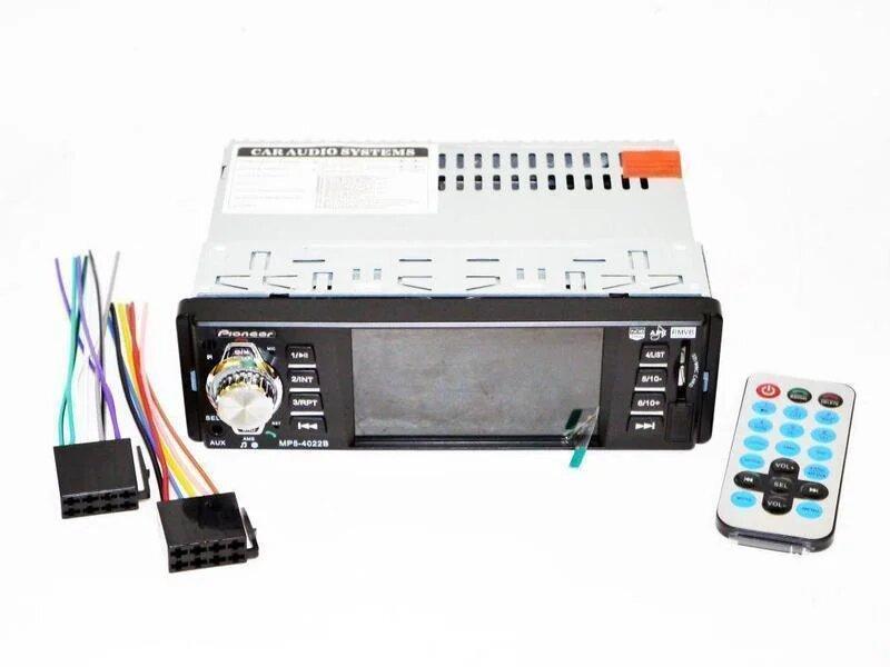 Автомагнитола 1DIN MP5-4022BT | Автомобильная магнитола | RGB панель + пульт управления! Топ Продаж