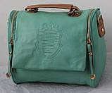 Винтажная Стильная женская сумка кожа PU, фото 5