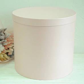 Шляпная круглая коробка d= 31h=30 см