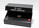 Детектор Валют 118 AB УФ Лампа для Грошей MONEY від батарейок, фото 4