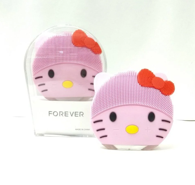 Щетка для очищения лица Kitty Mini2 / Электронная щеточка для чистки кожи