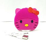 Щетка для очищения лица Kitty Mini2 / Электронная щеточка для чистки кожи, фото 6