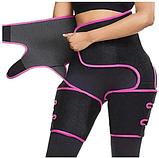 Коригуючий костюм для схуднення 3в1 Adjustable one Piece, фото 7