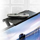 Универсальная регулируемая полка на телевизор / монитор Screen Caddy | Эргономическая подставка органайзер, фото 7