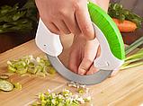 Универсальный круглый нож Bolo для дома / Кухонный нож для пиццы / Для нарезки салатов, фото 8