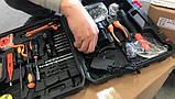 Шуруповерт у валізі c-157 / Набір інструментів предметів 35, фото 2