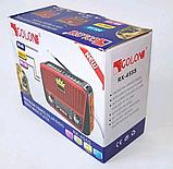 Портативный радиоприемник GOLON RX-455S Solar на солнечной батареи / Радио / Портативная колонка, фото 6