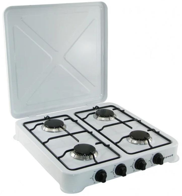 Двоконфорочна електроплита дискова настільна електрична плита Crownberg CB-3746 2000W