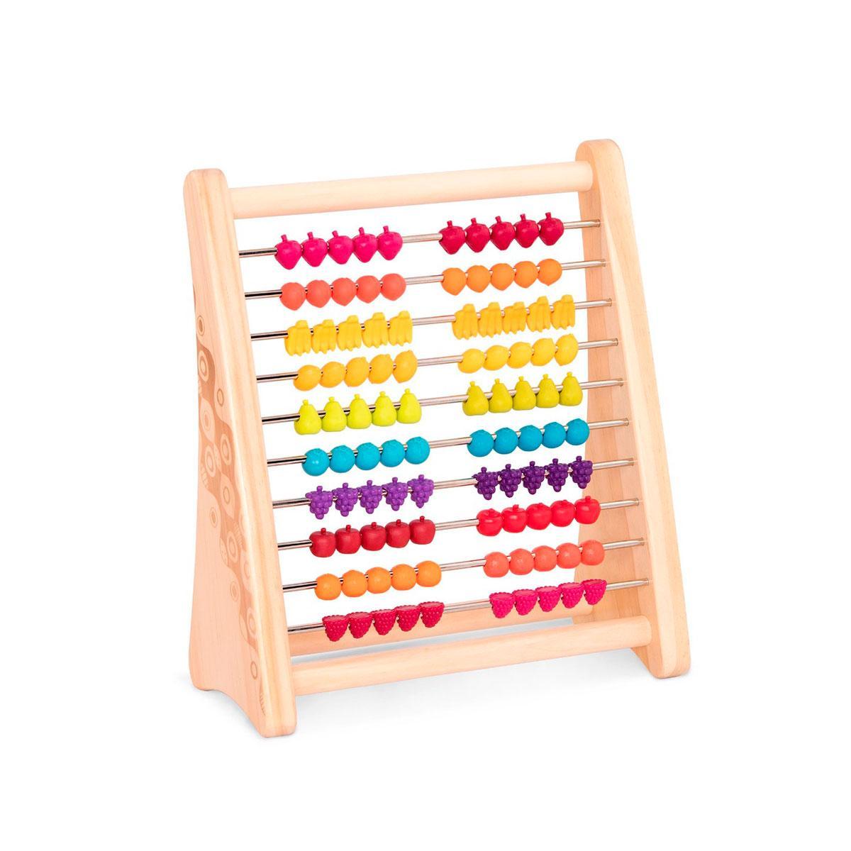 Розвиваюча дерев'яна іграшка-рахунки - ТУТТІ-ФРУТТІ, BX1778Z