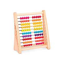 Развивающая деревянная игрушка-счеты - ТУТТИ-ФРУТТИ, BX1778Z