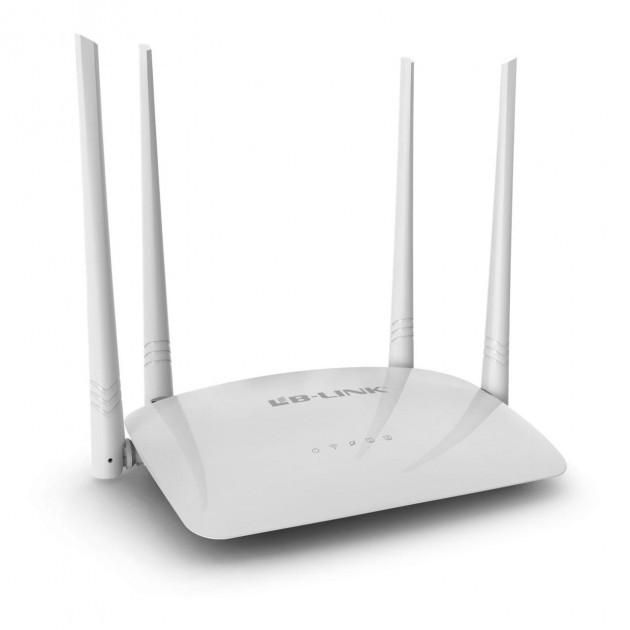 Роутер з 4-я антенами і 2-я портами швидкістю до 300 Mbps LB-LINK BL-WR450H