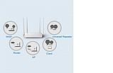 Роутер з 4-я антенами і 2-я портами швидкістю до 300 Mbps LB-LINK BL-WR450H, фото 8