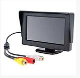 Автомонитор LCD 4.3'' для двух камер 043   монитор автомобильный для камеры заднего вида, дисплей, фото 2