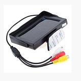 Автомонитор LCD 4.3'' для двух камер 043   монитор автомобильный для камеры заднего вида, дисплей, фото 4
