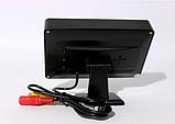 Автомонитор LCD 4.3'' для двух камер 043   монитор автомобильный для камеры заднего вида, дисплей, фото 6