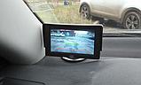 Автомонитор LCD 4.3'' для двух камер 043   монитор автомобильный для камеры заднего вида, дисплей, фото 8