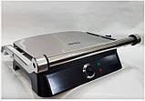 Электрический гриль DSP KB1001 / Электрогриль-барбекю 1400 Вт / Бутербродница, фото 4