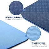 Коврик для йоги Power System Fitness Yoga коврик для занятия спортом и фитнеса, гимнастический каремат, мат, фото 2