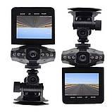 Автомобільний відеореєстратор DVR-027 HD (H-198) 1280x720 реєстратор, фото 3