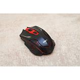 Російська бездротова клавіатура + мишка HK6500 з адаптером, фото 8