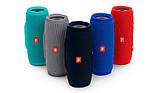 Портативна Bluetooth колонка JBL Charge 3 колонка з USB,SD,FM / Блютуз / ДЖБЛ з повер банком - СИНЯ, фото 6