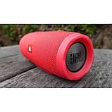 Портативная Bluetooth колонка JBL Charge 3 колонка с USB,SD,FM / Блютуз / ДЖБЛ с повер банком - КРАСНАЯ, фото 7