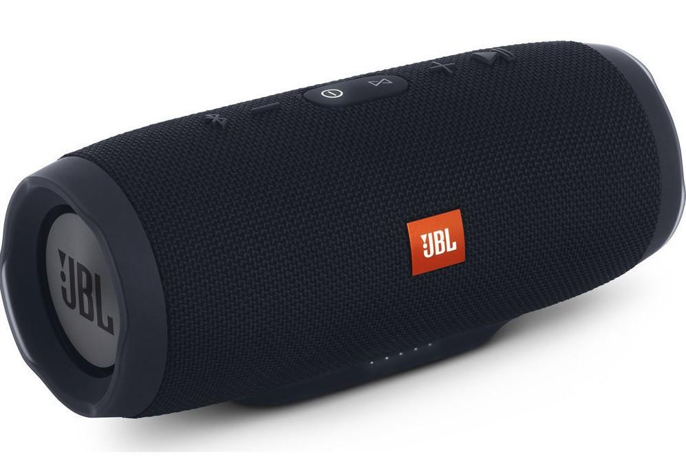 Портативная Bluetooth колонка JBL Charge 3 колонка с USB,SD,FM / Блютуз / ДЖБЛ с повер банком - ЧЕРНАЯ