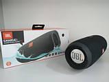 Портативная Bluetooth колонка JBL Charge 3 колонка с USB,SD,FM / Блютуз / ДЖБЛ с повер банком - ЧЕРНАЯ, фото 6