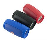 Портативна Bluetooth блютуз колонка JBL Charge 3 MINI колонка з USB,SD,FM / Блютуз - СИНЯ, фото 4