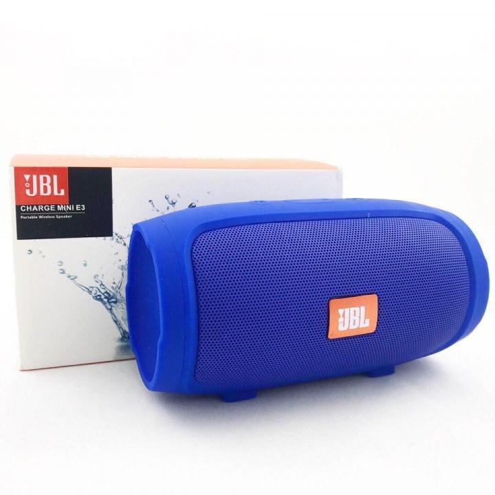 Портативная Bluetooth блютуз колонка JBL Charge 3 MINI колонка с USB,SD,FM / Блютуз - СИНИЯ