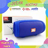 Портативная Bluetooth блютуз колонка JBL Charge 3 MINI колонка с USB,SD,FM / Блютуз - СИНИЯ, фото 2