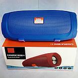 Портативная Bluetooth блютуз колонка JBL Charge 3 MINI колонка с USB,SD,FM / Блютуз - СИНИЯ, фото 6