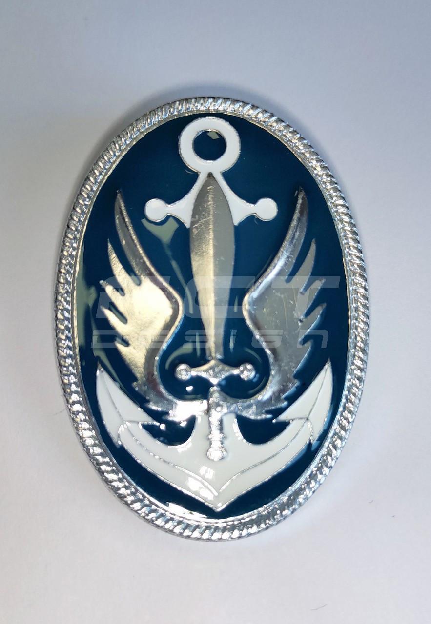 Кокарда ВМС серебро