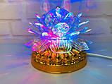 Яскрава, Обертається диско лампа Led full color rotating lamp світлодіодна G 0073. Краща Ціна!, фото 9
