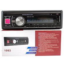 Автомагнитола сьемная панель с Usb + Sd + Fm + Aux, MP3 1093, автомагнитолы, автомобильные магнитолы mp3