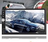 Сенсорная автомагнитола мультимедия с Bluetooth 7012 B, 2 DIN с пультом управления, фото 5