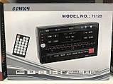 Сенсорная автомагнитола мультимедия с Bluetooth 7012 B, 2 DIN с пультом управления, фото 6