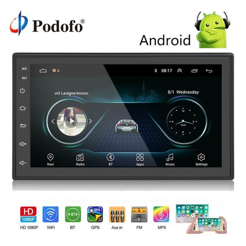 Автомагнітола 2 DIN 8701 Android Краща ціна!