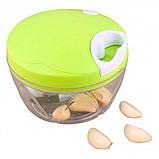 Механический измельчитель продуктов и овощей Easy Spin Cutter / Кухонный ручной измельчитель, фото 7